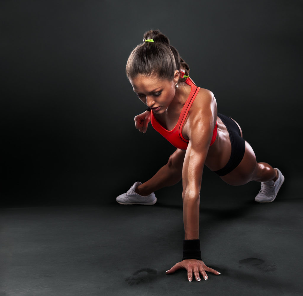 muscle and fitness workout routine
